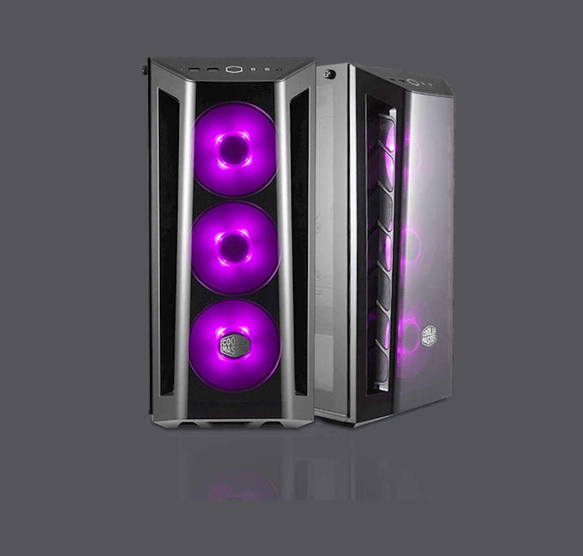 RGB Led Fans And Lighting Control