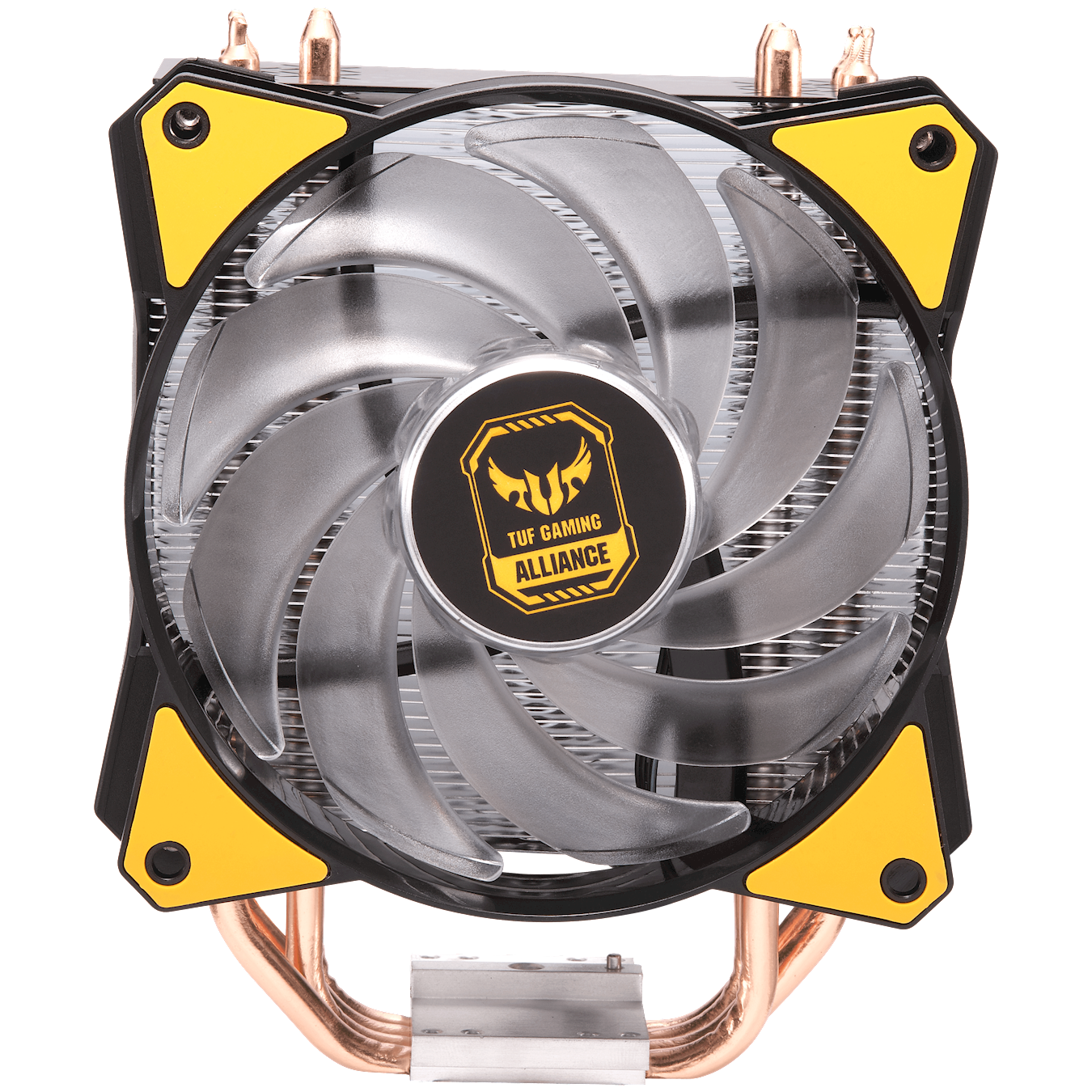 MasterAir MA410P TUF Gaming Edition is the upgraded version of the MasterAir Pro 4