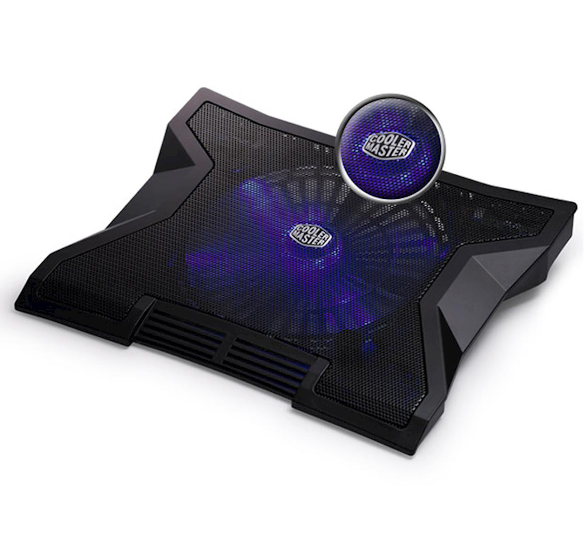X-shape Blue Led Fan With Optimum Air Flow