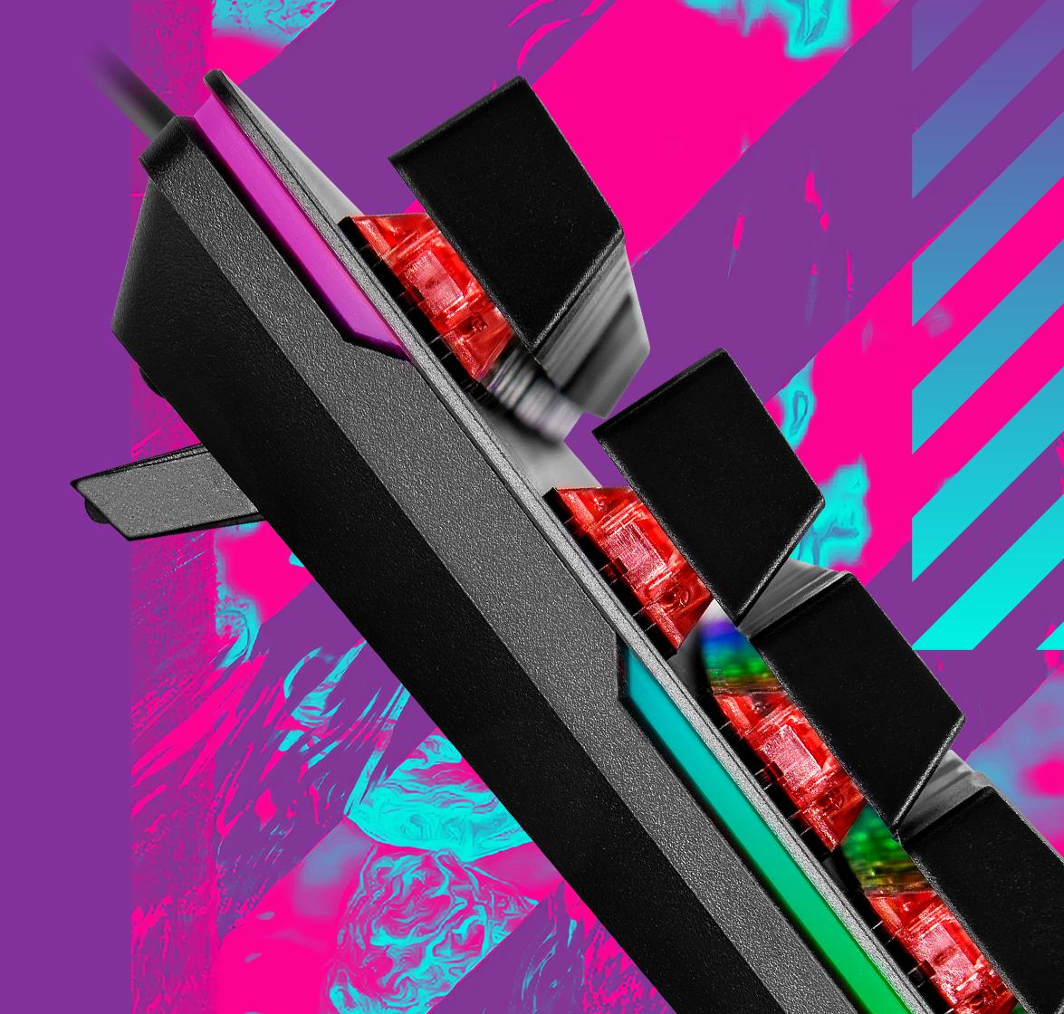 RGB背光以及側框光條設計
