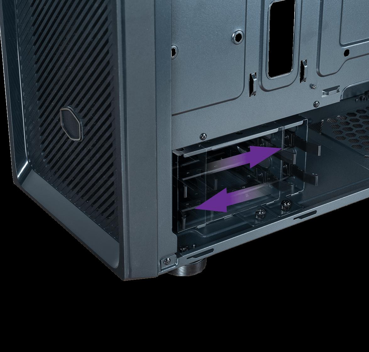 Versatile HDD Cage