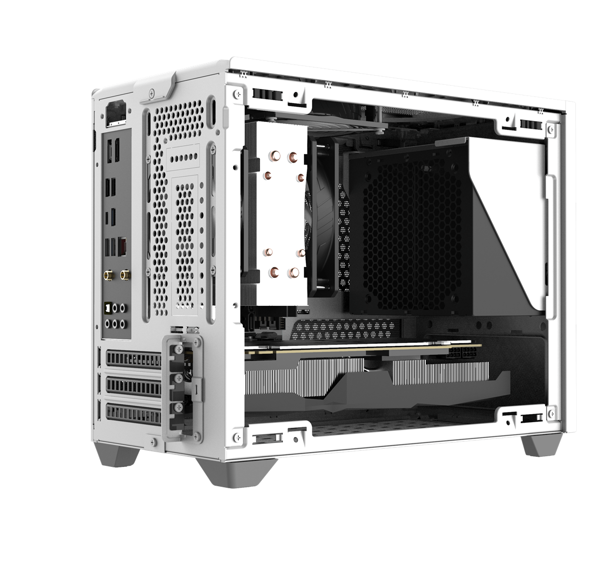 Unrestricted Power Supply Airflow
