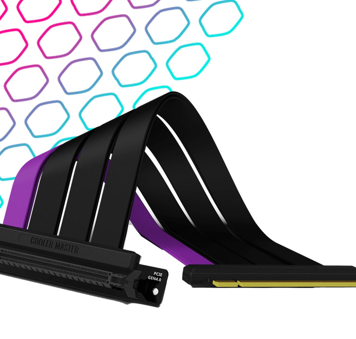 Cooler Master Riser Cable PCIE 4.0 Included