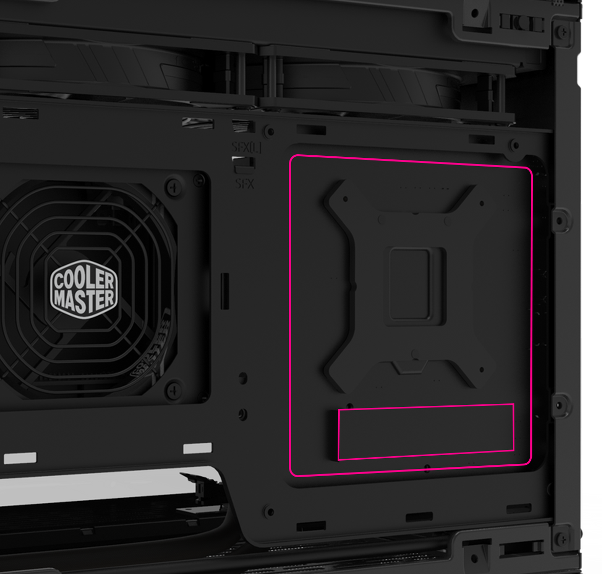 Easily Accessible M.2 Drives
