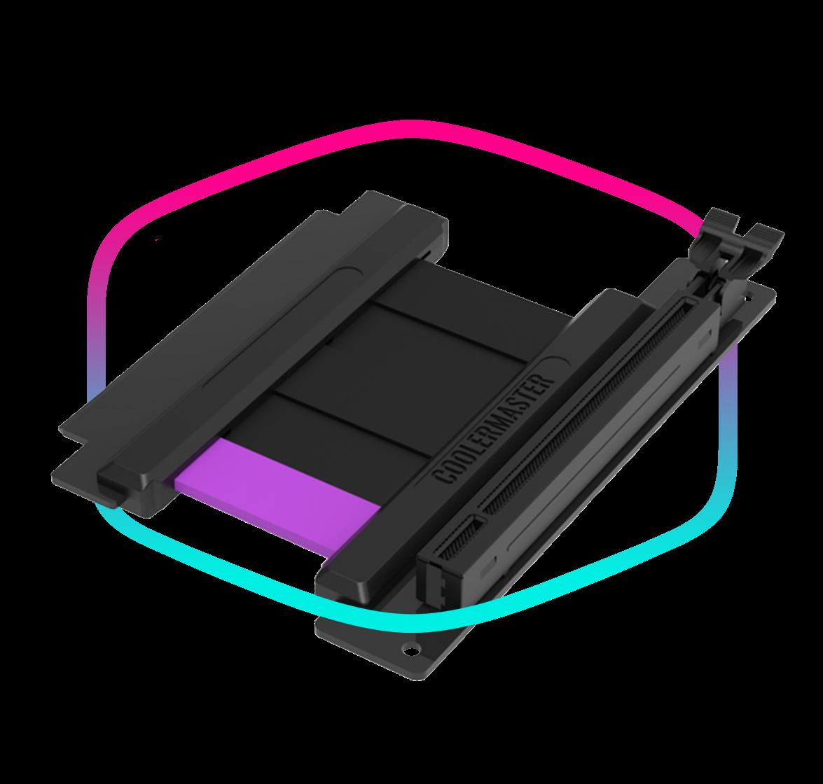 Premium PCIe Gen4 Riser Cable Included