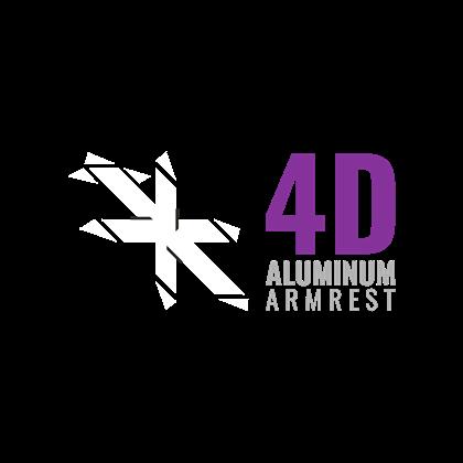 4D Aluminum Armrest