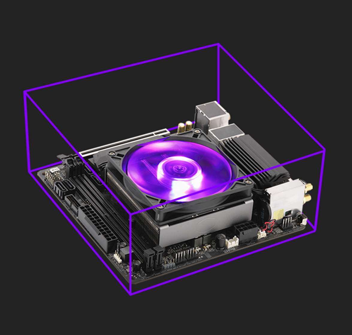 Designed For Small Form Factor Cases