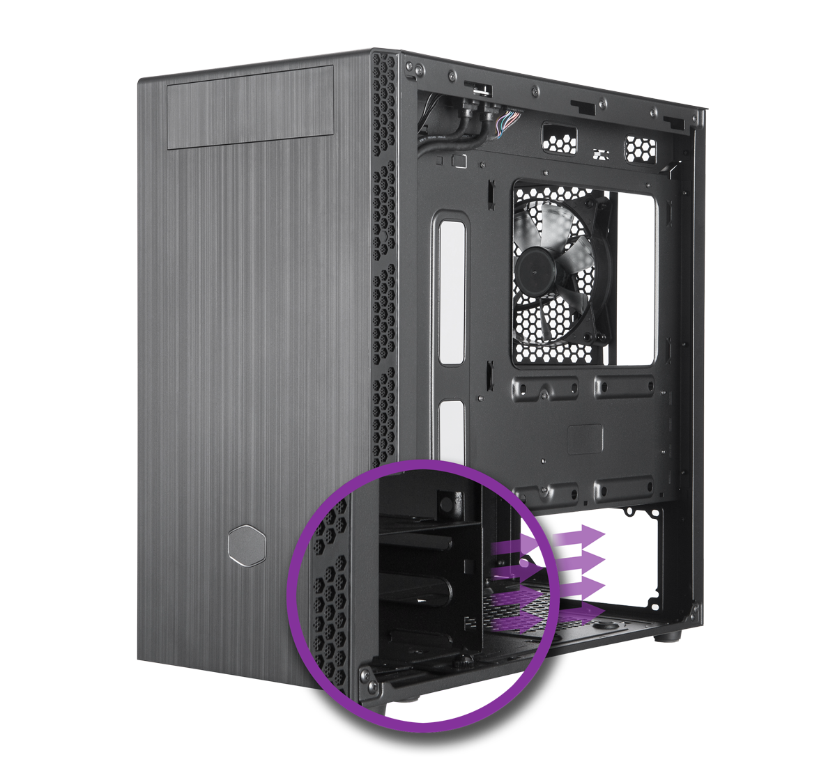Adaptable Drive Cage