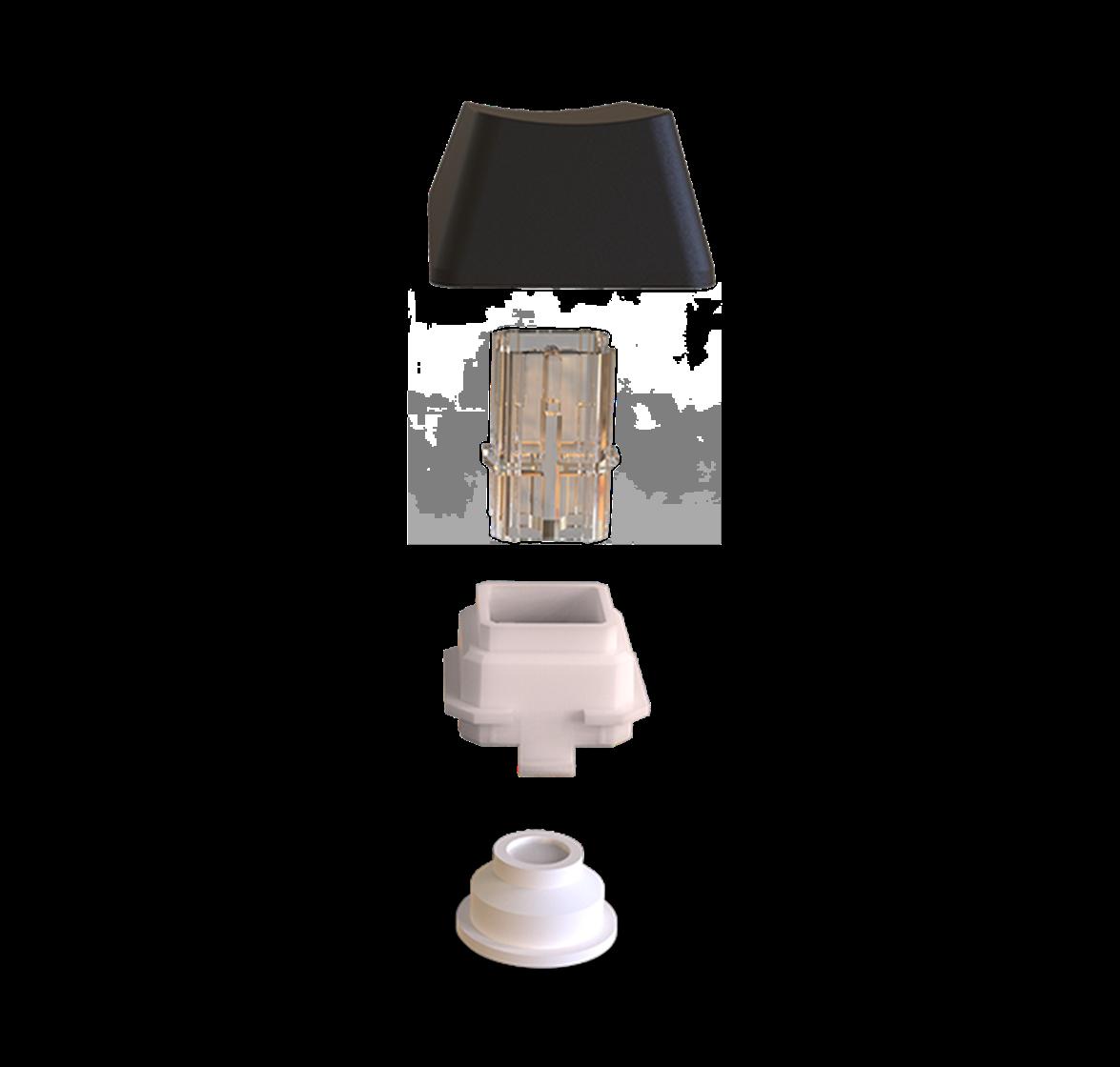 Interruptores exclusivos de mem-chanical lineales híbridos
