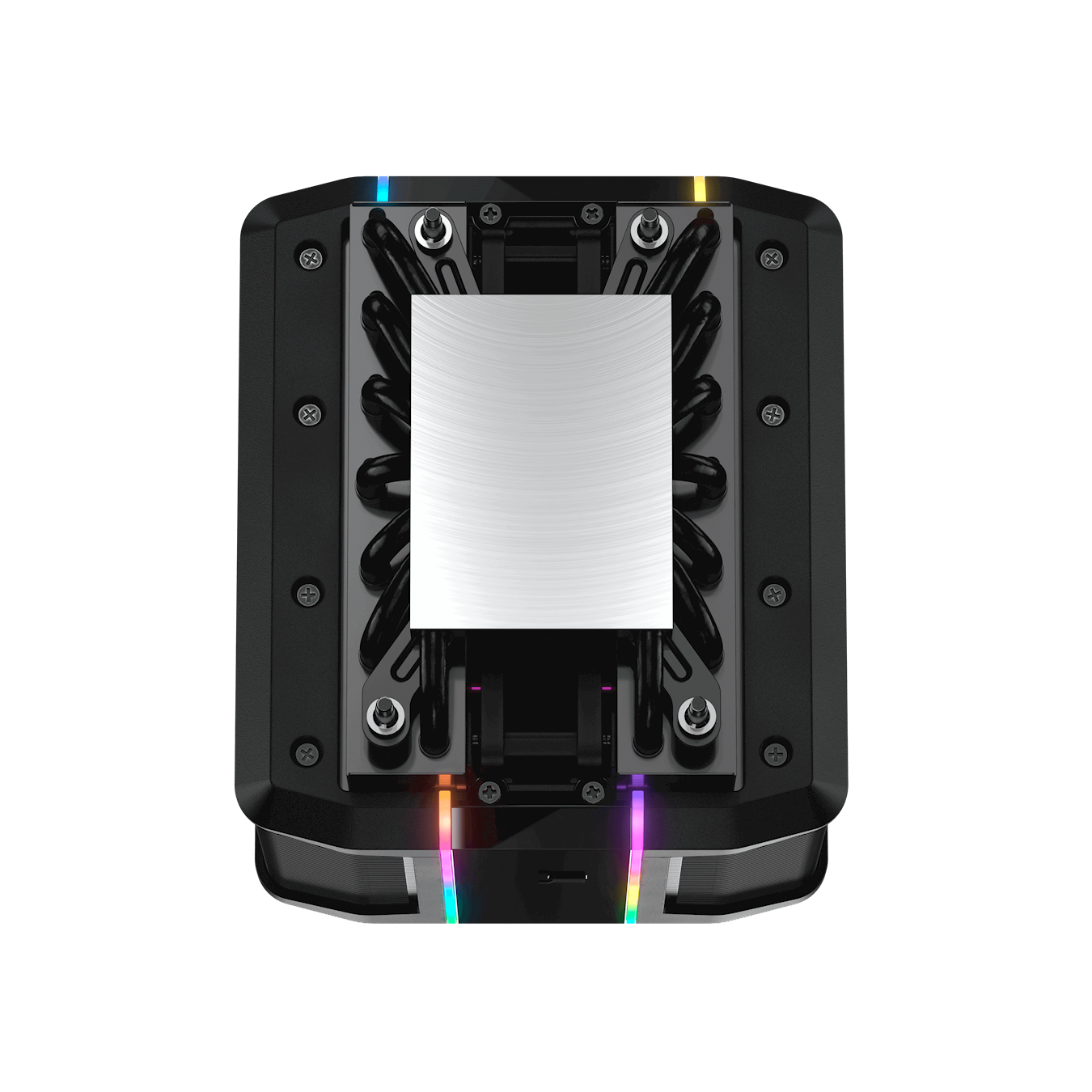 Features a larger contact surface area that is specifically tailored for Ryzen Threadripper AMD LIGHTING BADGE