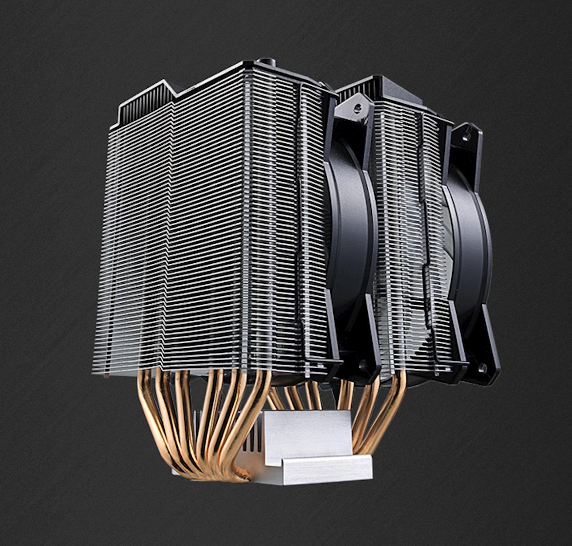 Dual Tower Heatsinks & Fans