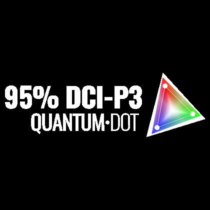 95% DCI-P3 Quantum Dot