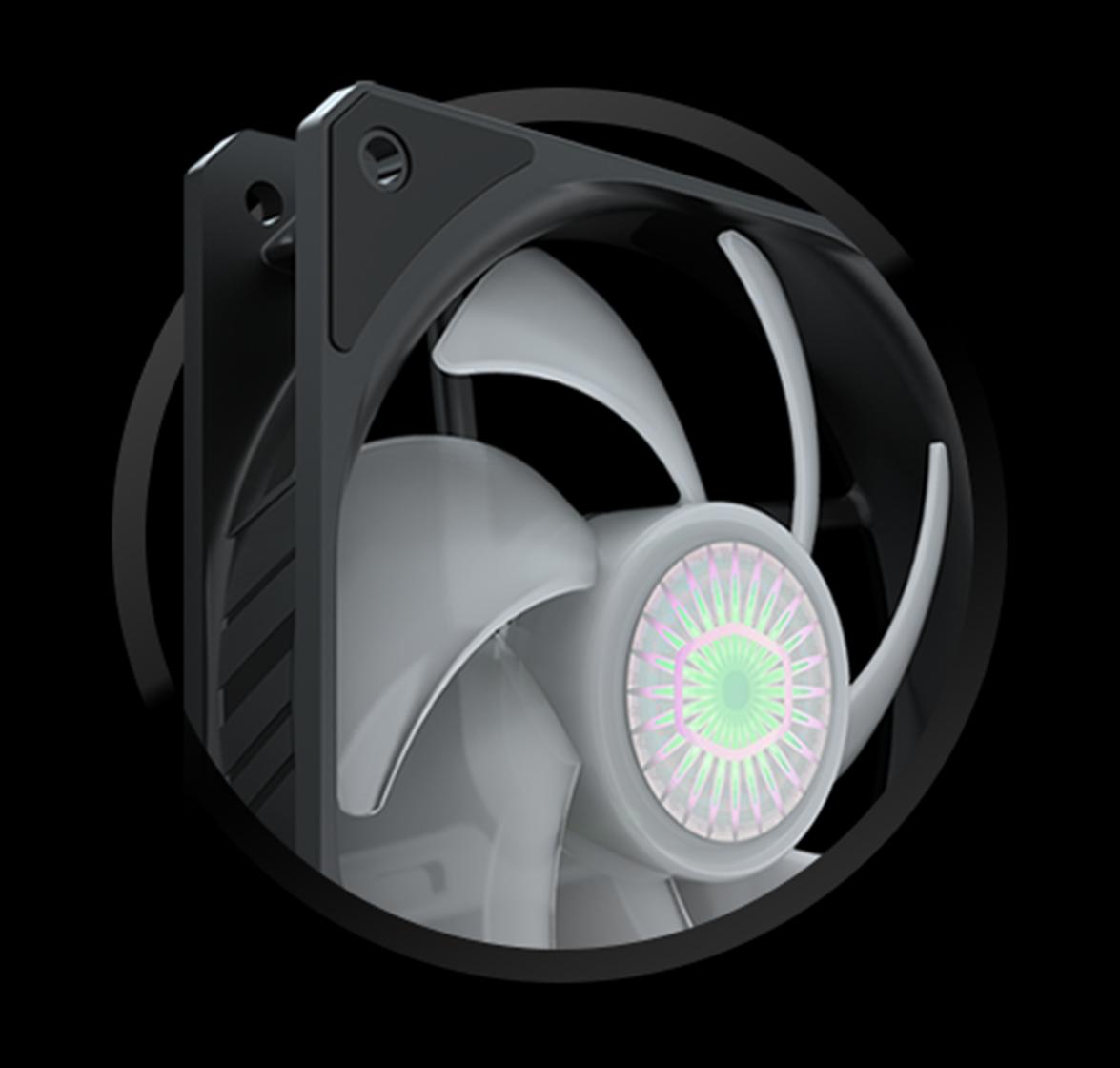 雙顆 SICKLEFLOW 120 ARGB 風扇