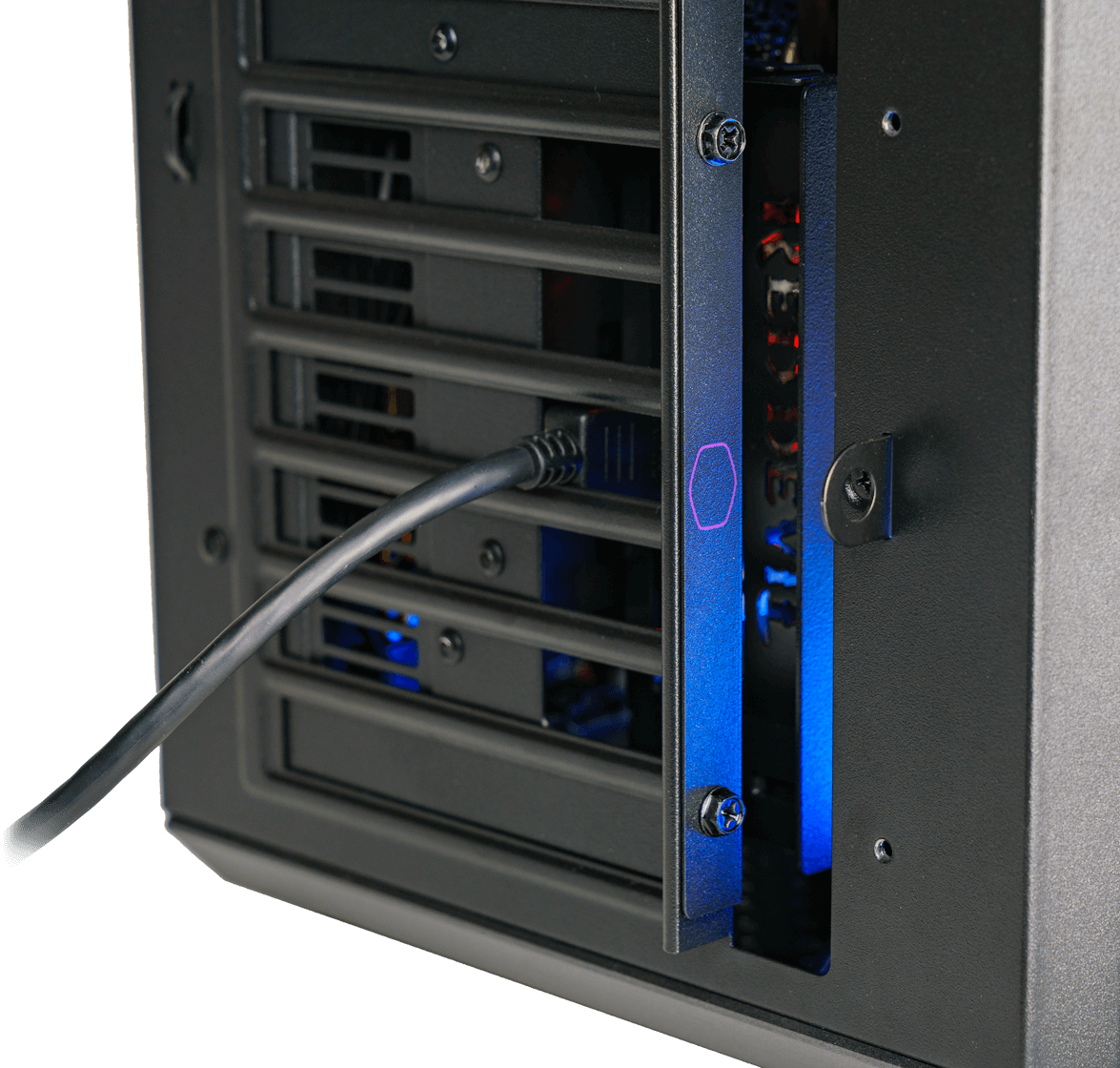 Compatible with all standard ATX chassis