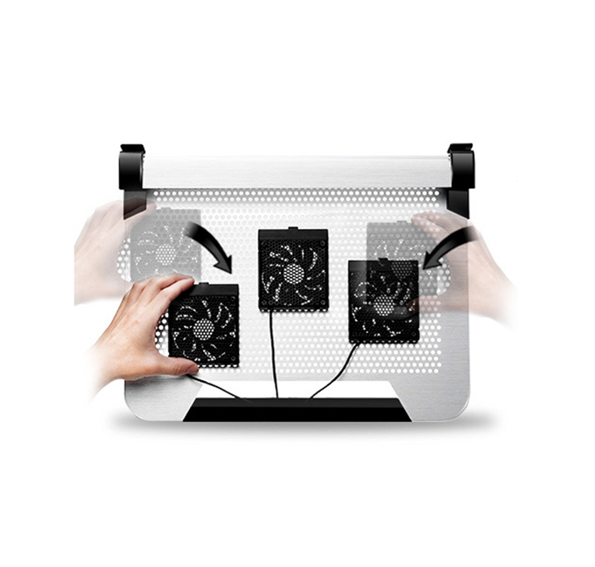 Patent Moveable Cooling Fans