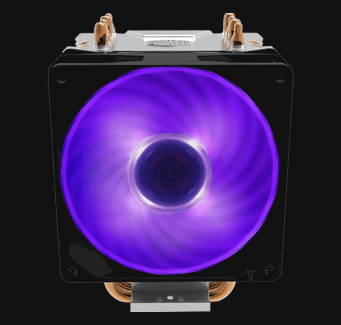 92mm PWM Fan With RGB Lighting