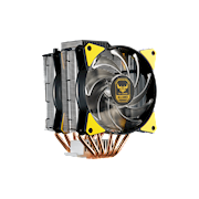 MasterAir MA620P TUF - Two MasterFan MF120R RGB Certified compatible with top RGB capable motherboards