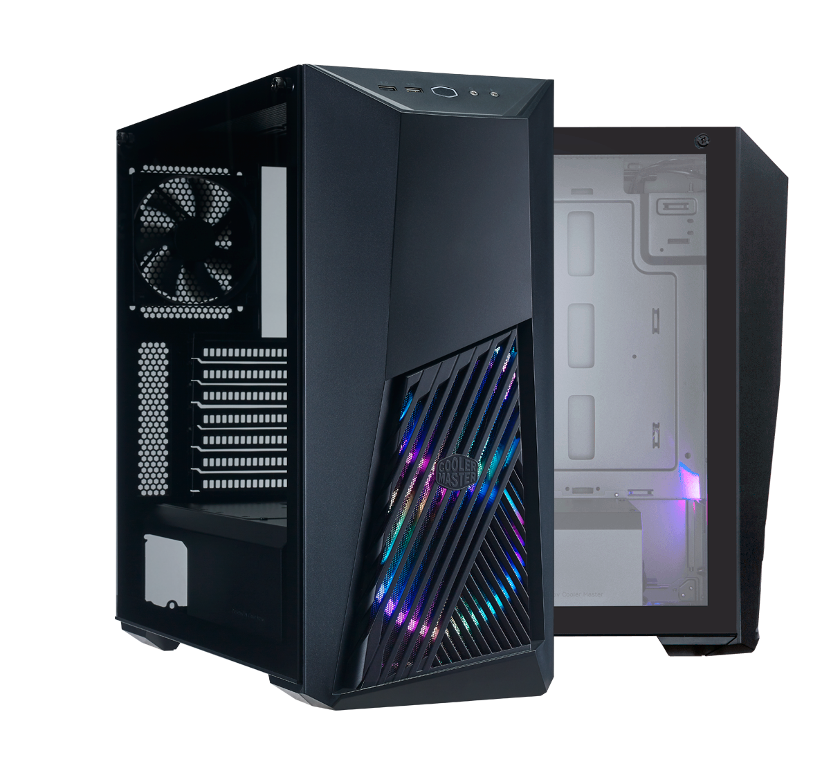 EDGE-TO-EDGE TEMPERED GLASS SIDE PANEL