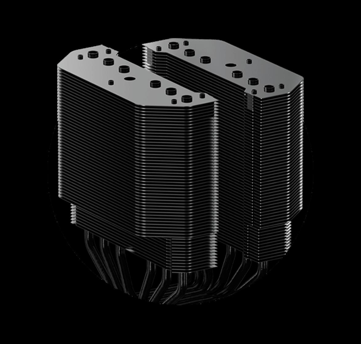 Dual Tower Heatsink
