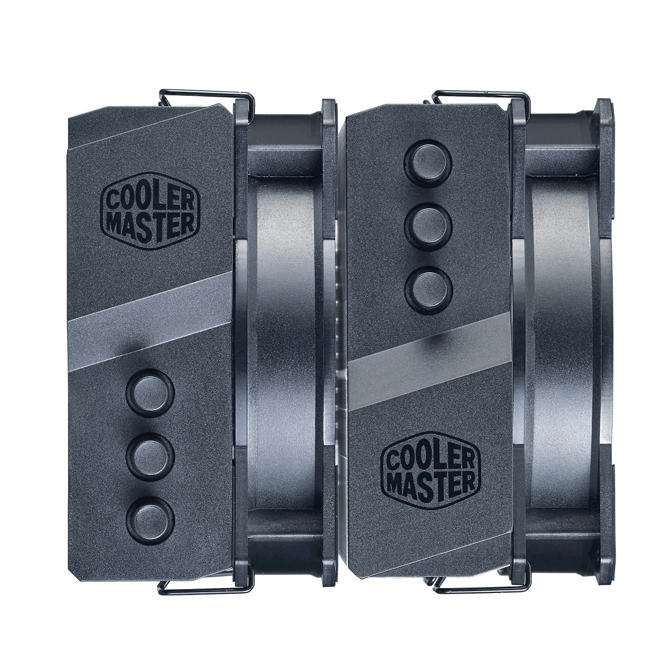 Twin-Tower heatsink doubles the performance with aesthetic top cover design.