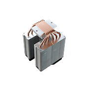 With 6 heatpipes and Continuous Direct Contact Technology 2.0 (CDC 2.0), the contact surface area of heatpipes to cooler base is increased by 45%