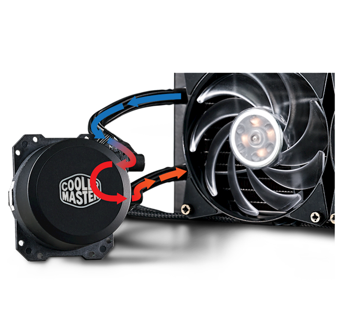 Dual Chamber Pump with RGB