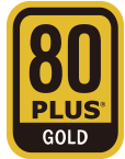80 Plus Gold Certified