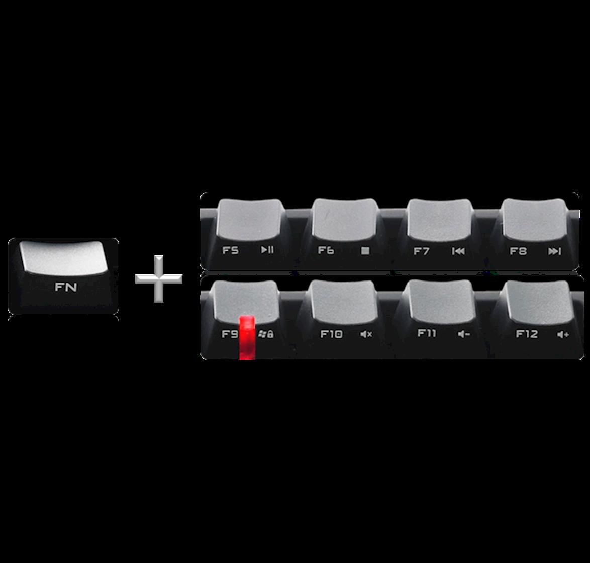 Multi media & win-lock shortcuts